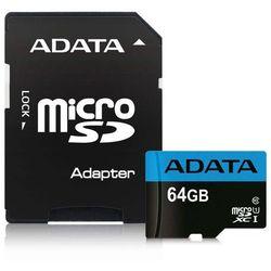 Adata microSD Premier 64GB UHS1/CL10/A1+adapter