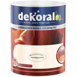 Farba Lateksowa Akrylit W Kolor Brzoskwiniowy Pastelowy 5l Dekoral