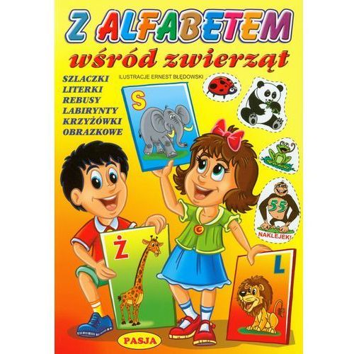 Książki dla dzieci, Z alfabetem wśród zwierząt (opr. broszurowa)