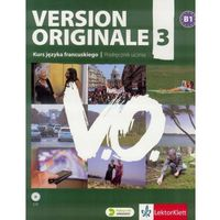 Książki dla dzieci, Version Originale 3 podręcznik wieloletni + CD (opr. miękka)