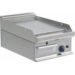 Płyta grillowa gazowa gładka nastawna | 395x530mm | 6000W