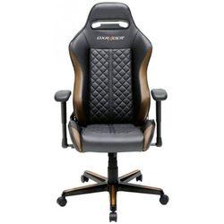 DXRacer krzesło obrotowe Drifting OH/DH73/NC, czarna/brązowy (DH73/NC)