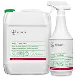 Velox Foam Extra Medisept 1L - Pianka do szybkiej dezynfekcji i mycia delikatnych powierzchni