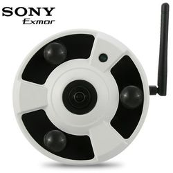 Kamera IP, WiFi, kopułkowa NETIP FISHEYE 1080p