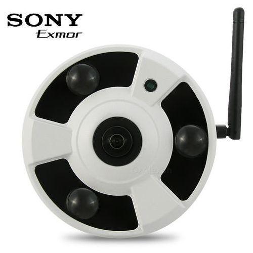 Kamery monitoringowe, Kamera IP, WiFi, kopułkowa NETIP FISHEYE 1080p