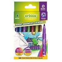 Mazaki i flamastry, Pisaki wymazywalne 7+1 kolorów CRICCO