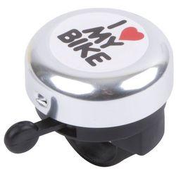 Dzwonek rowerowy KROSS I LOVE MY BIKE (TCDZ000054) + Zamów z DOSTAWĄ JUTRO! kross akcesoria (-27%)