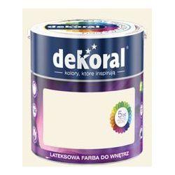 Farba Lateksowa Akrylit W Kolor Ecru 2.5l Dekoral