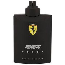 Ferrari Scuderia Ferrari Black 125ml M Woda toaletowa Tester