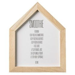 Plakat do kuchni Smoothies przepis - Bloomingville