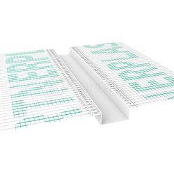 Listwa do boniowania z siatką 50x20 mm H=5cm, L=3mb pakiet 20szt.