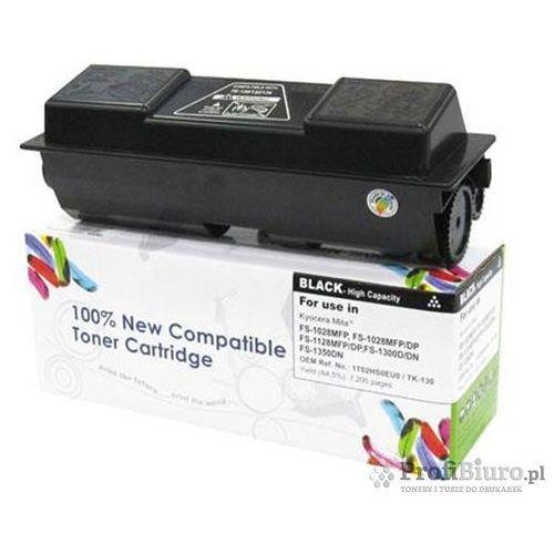 Tonery i bębny, Toner CW-K130N Czarny do drukarek Kyocera (Zamiennik TK-130) [7.2k]