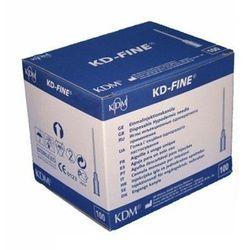 Igły iniekcyjne KD Medical - Fine 0,6 mm x 25 mm, 100 szt.