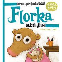 Książki dla dzieci, Zapiski ryjówki. Florka - Roksana Jędrzejewska-Wróbel (opr. twarda)