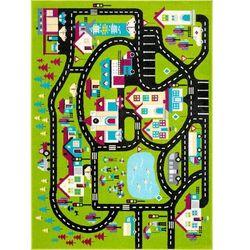 Dywan Agnella Funky Top Super Miasto C Zielony 200x280