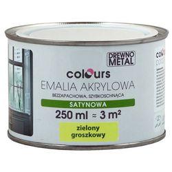Emalia akrylowa Colours zielona groszkowa 0,25 l