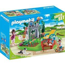 Playmobil 70010 SuperSet Rodzina w ogrodzie