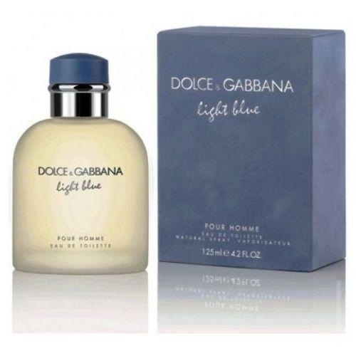 Testery zapachów dla mężczyzn, Dolce & Gabbana Light Blue pour Homme, Woda toaletowa – Tester, 125ml