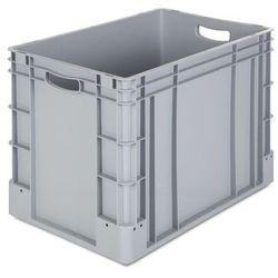 Pojemnik przemysłowy,poj. 80 l, dł. x szer. x wys. 600 x 400 x 420 mm, opak. 2 szt.