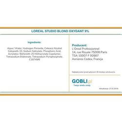 Loreal B-Studio Nutri Developer Oxydant 9%