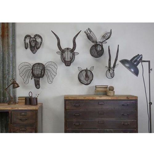 Pozostały wystrój ścian, Nkuku - Dekoracja ścienna głowa byka