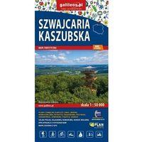 Mapy i atlasy turystyczne, Mapa turystyczna - Szwajcaria Kaszubska - praca zbiorowa - książka (opr. broszurowa)