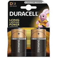 Baterie, Baterie alkaliczne Duracell Basic D LR20 1,5V, 2 szt.