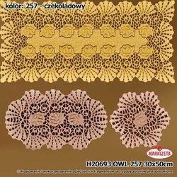 Serwetka czekoladowy H20693/OWL/257/030050/1