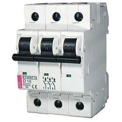 Wyłącznik nadprądowy 3P B 6A 10kA AC ETIMAT10 002125712 ETI-POLAM