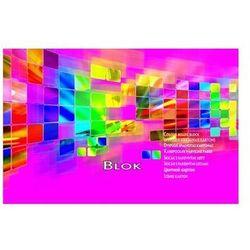 Blok techniczny A5 przemium kolorowy 15 kartek KRESKA