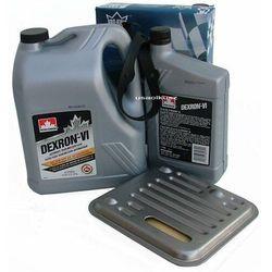 Filtr oraz olej Dextron-VI automatycznej skrzyni biegów 4SPD Chrysler 200 2,4 16V