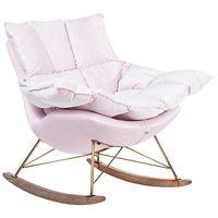 Fotele, Fotel bujany SWING VELVET HE325B-AY1908-30.LP - King Home - Sprawdź kupon rabatowy w koszyku