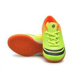 Dziecięce sportowe buty halowe Zielono-pomarańczowe