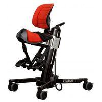 Pozostały sprzęt rehabilitacyjny, Krabat Jockey mobilne siedzisko siodłowe fotelik rehabilitacyjny wielofunkcyjny