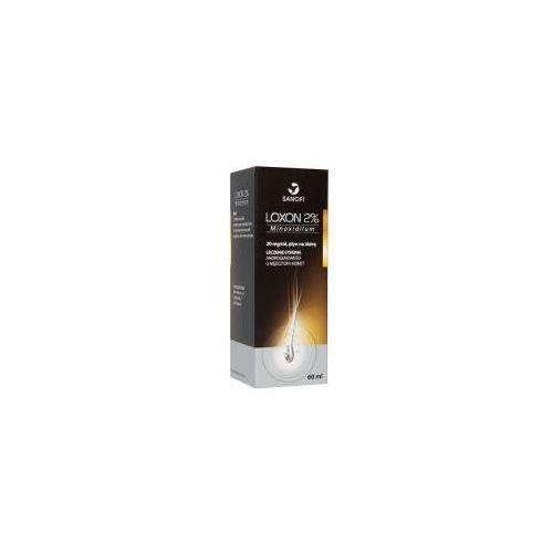 Inne kosmetyki do włosów, Loxon 2% płyn przeciwko łysieniu 60 ml