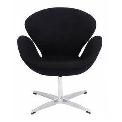 Kaszmirowy fotel wypoczynkowy ciemnoszary - Loco 2X