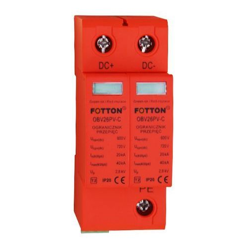 Baterie słoneczne, Ogranicznik przepięć FOTTON OBV26PV-C kl.II 720V DC