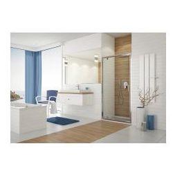 SANPLAST DJ/TX5b Drzwi przesuwne 90x190, profile srebrny połysk, szkło transparentne + Glass Protect 600-271-1050-38-401