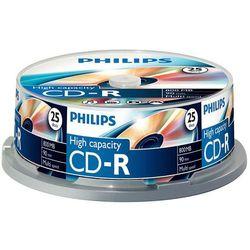 CD-R Philips 800MB x40 cakebox 25szt.
