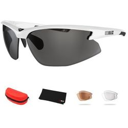 Sportowe okulary przeciwsłoneczne Bliz Motion+, Biały