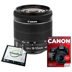 CANON 18-55 f/4-5.6 IS STM OEM + Poradnik fotograficzny / WYSYŁKA GRATIS / RATY 0% / TEL. 500 005 235
