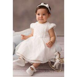 Sukienka niemowlęca na Chrzest 6K38AM Oferta ważna tylko do 2024-02-11