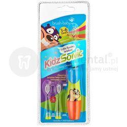 BRUSH-BABY KidzSonic 3-6 szczoteczka soniczna dla dzieci