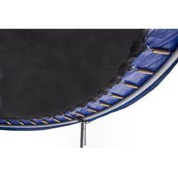 Trampolina ogrodowa 8ft (244cm) z siatką wewnętrzną Hop-Sport - 3 nogi - niebieski \ 244 cm
