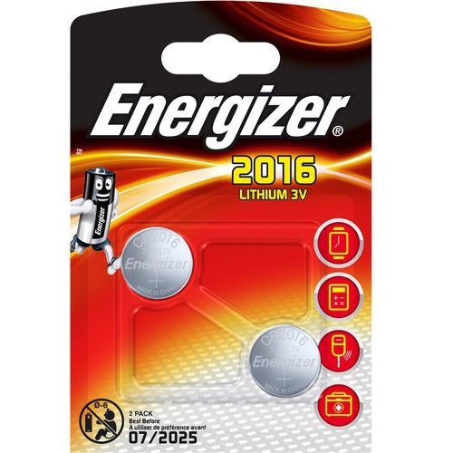 Baterie, BATERIA LITOWA BAT-CR2016*P2 ENERGIZER
