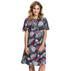 Wzorzysta sukienka ciążowa Allegro Green