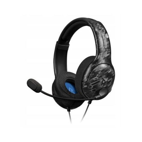 Akcesoria do PS 4, LVL 40 Wired Stereo Gaming Headset do PS4 Zestaw słuchawkowy PDP