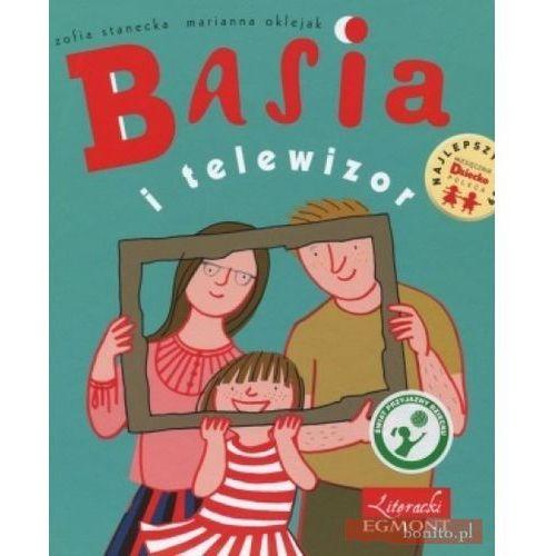 Książki dla dzieci, Basia i telewizor (opr. twarda)