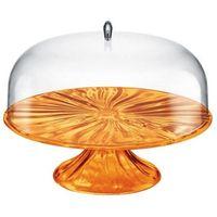 Tace i patery, Guzzini - Aqua - patera na ciasto 27,00 cm, pomarańczowa - pomarańczowy