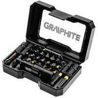 Pozostałe akcesoria do narzędzi, Końcówki wkrętakowe Graphite 56H612